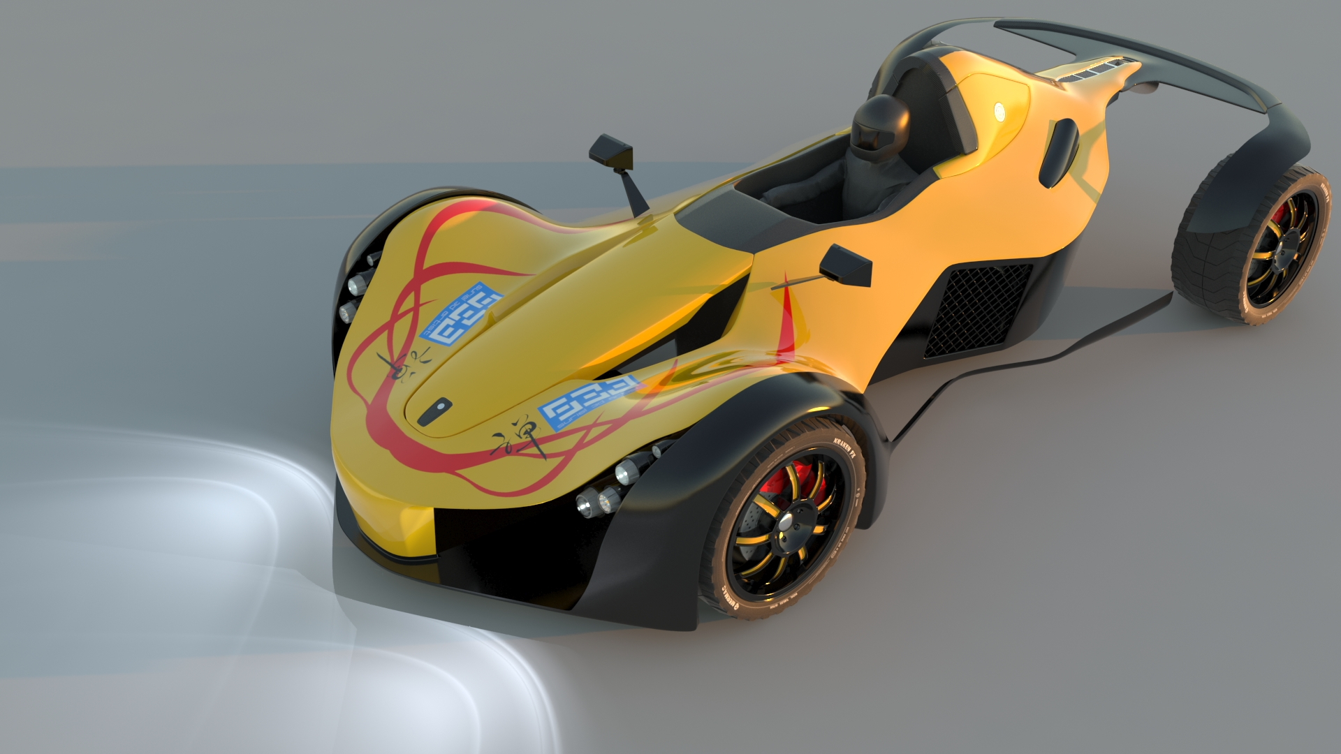 Humster3D car render competition - Suriel WIPs