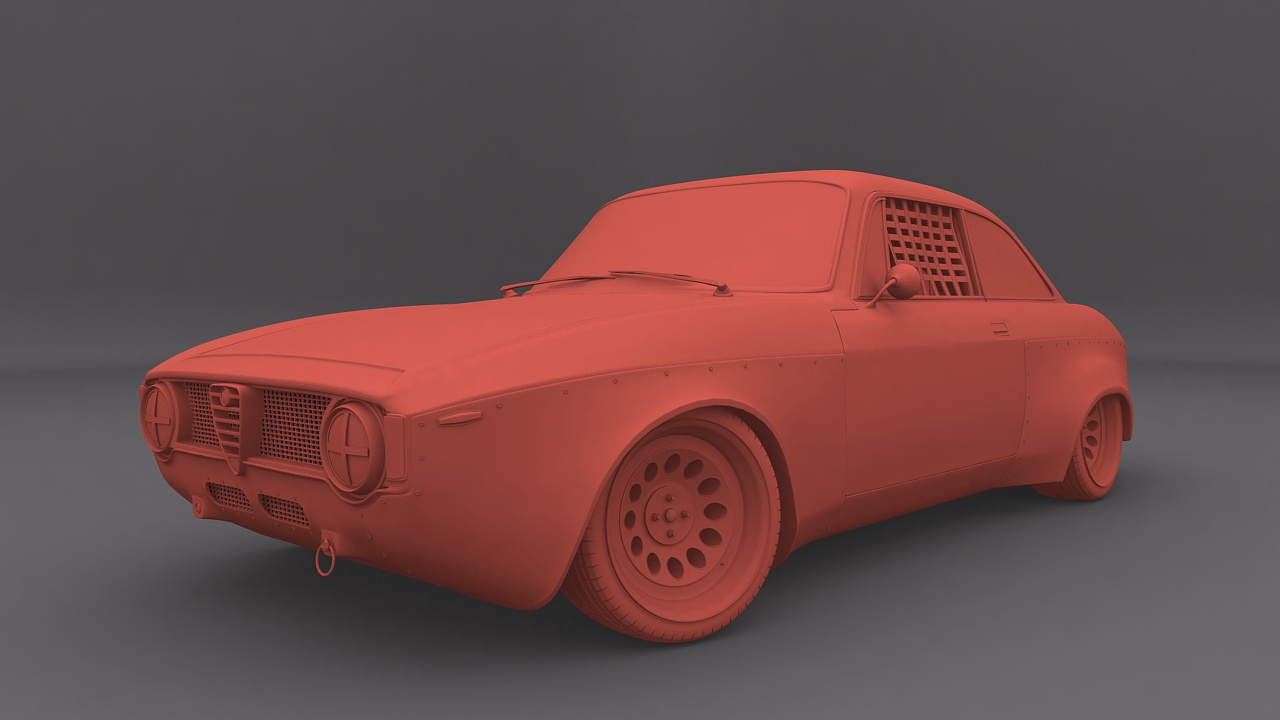 Car Render Challenge 2016 - Presentation and WIP