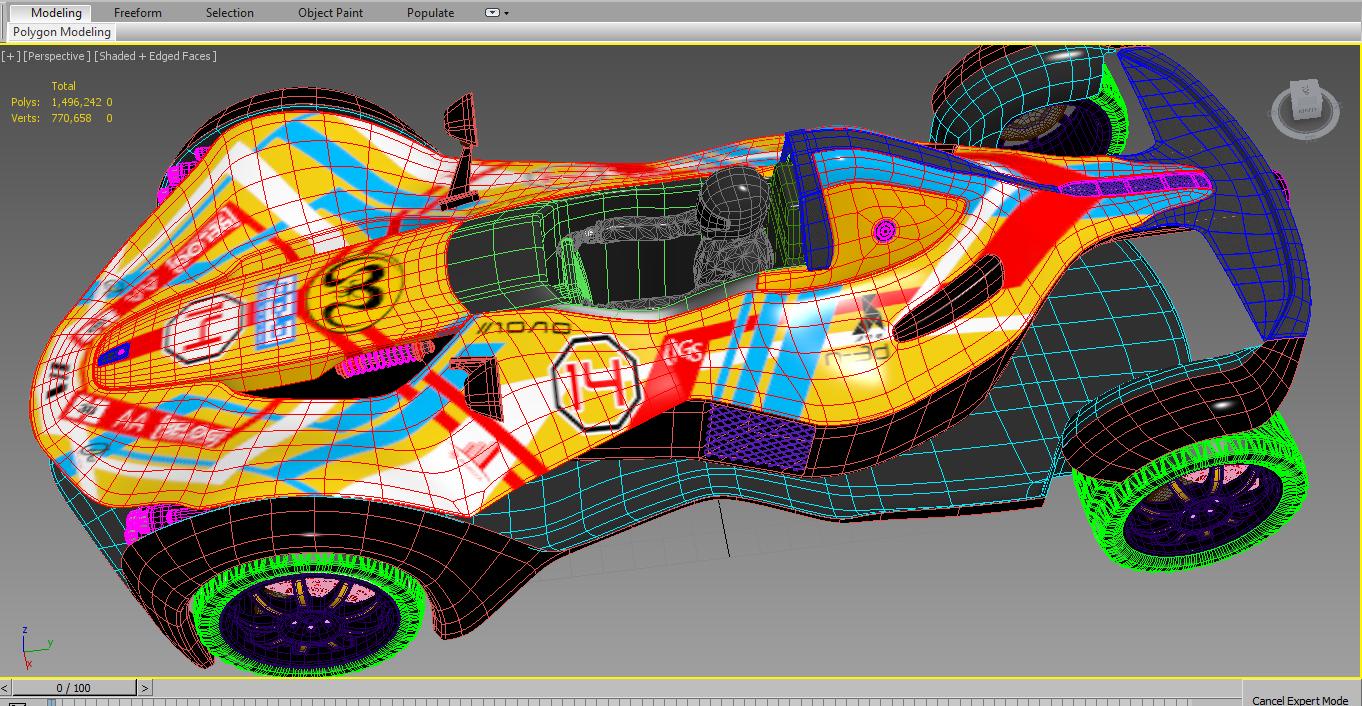 Humster3D car render competition - Suriel WIPs