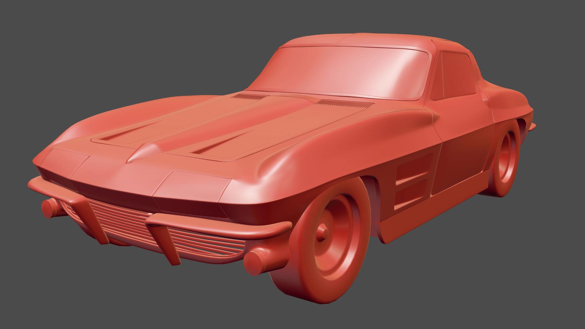 Chevrolet Corvette C2 coupe