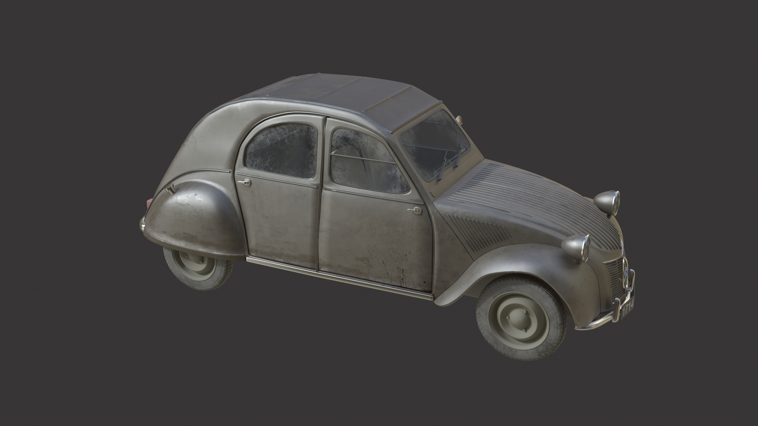 Citroën 2CV WIP