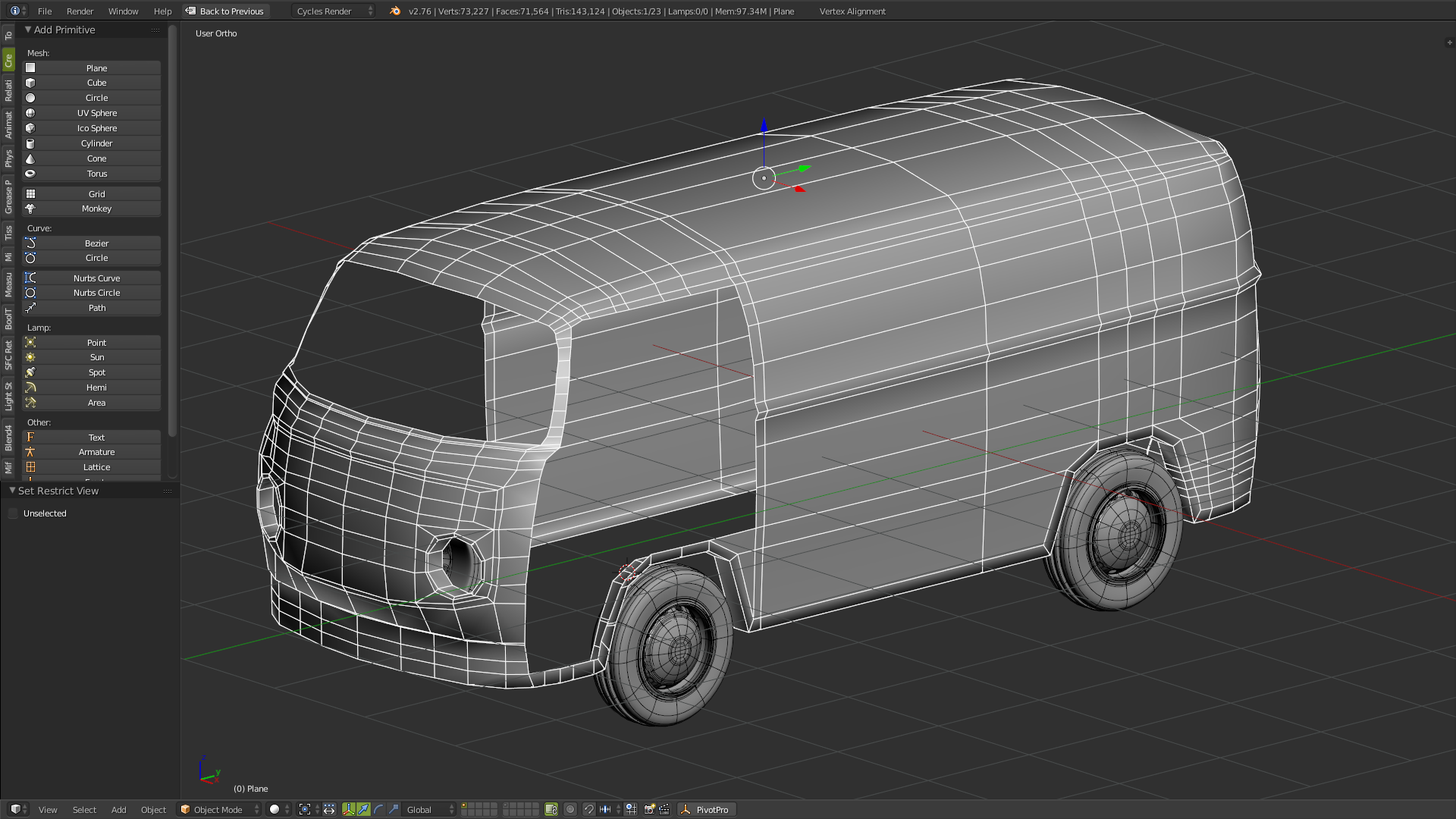 Humster3D car render competition - WIP - VWT2