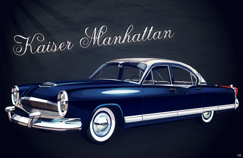 Humster3D car render contest 2016 - Kaiser Manhattan