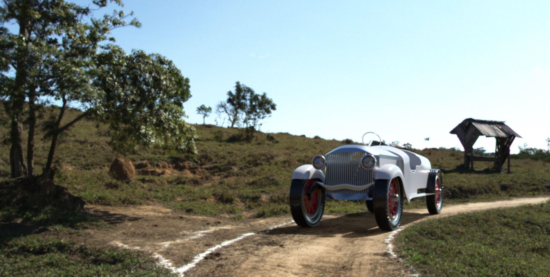 Humter 3d car render competition