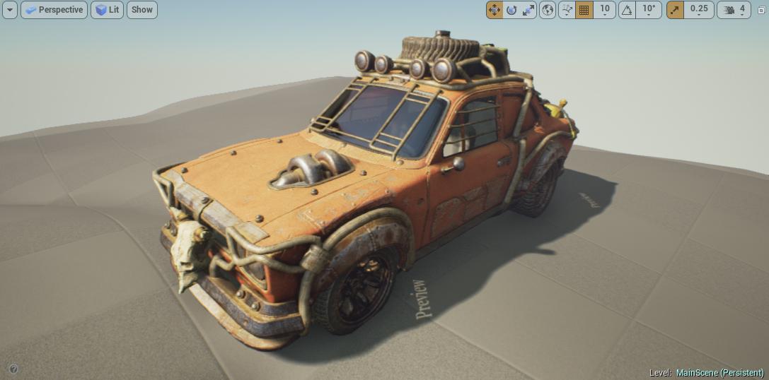 Desert Ford Escort MKI