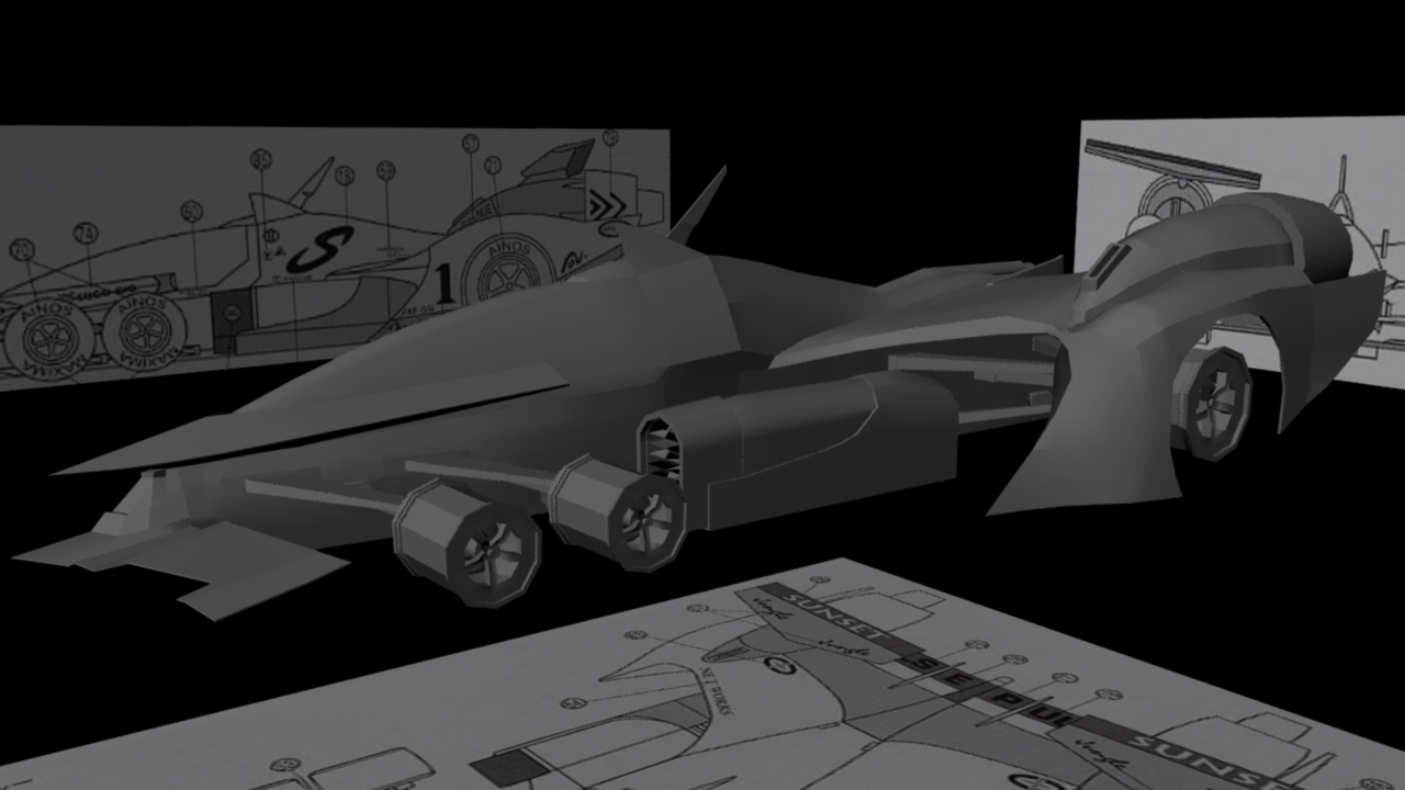 Cyber Formula: Asurada AKF-11