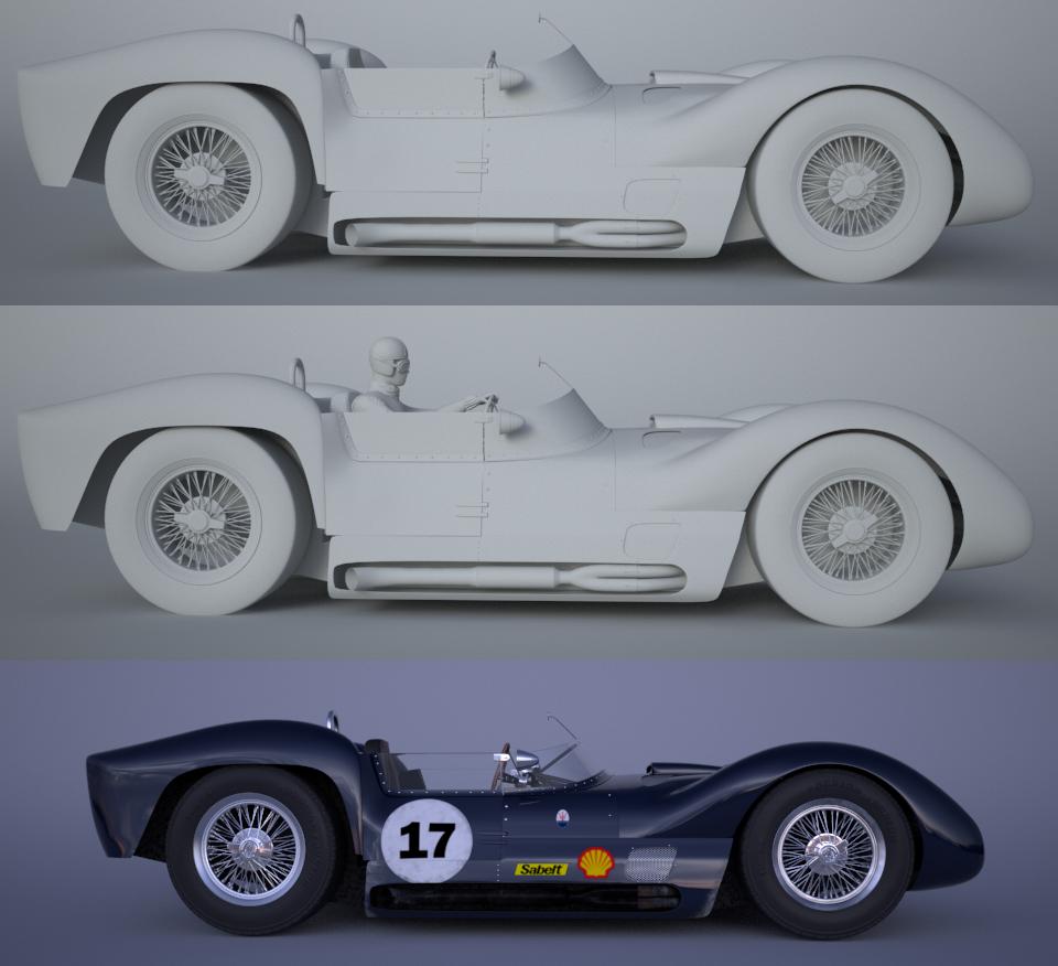 Maserati t61