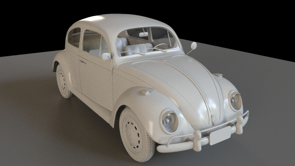 Car Render Challenge 2016 - VW Beetle