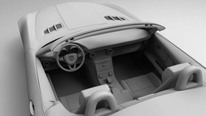 Car Render Challenge 2016 - Mercedes AMG roadstar