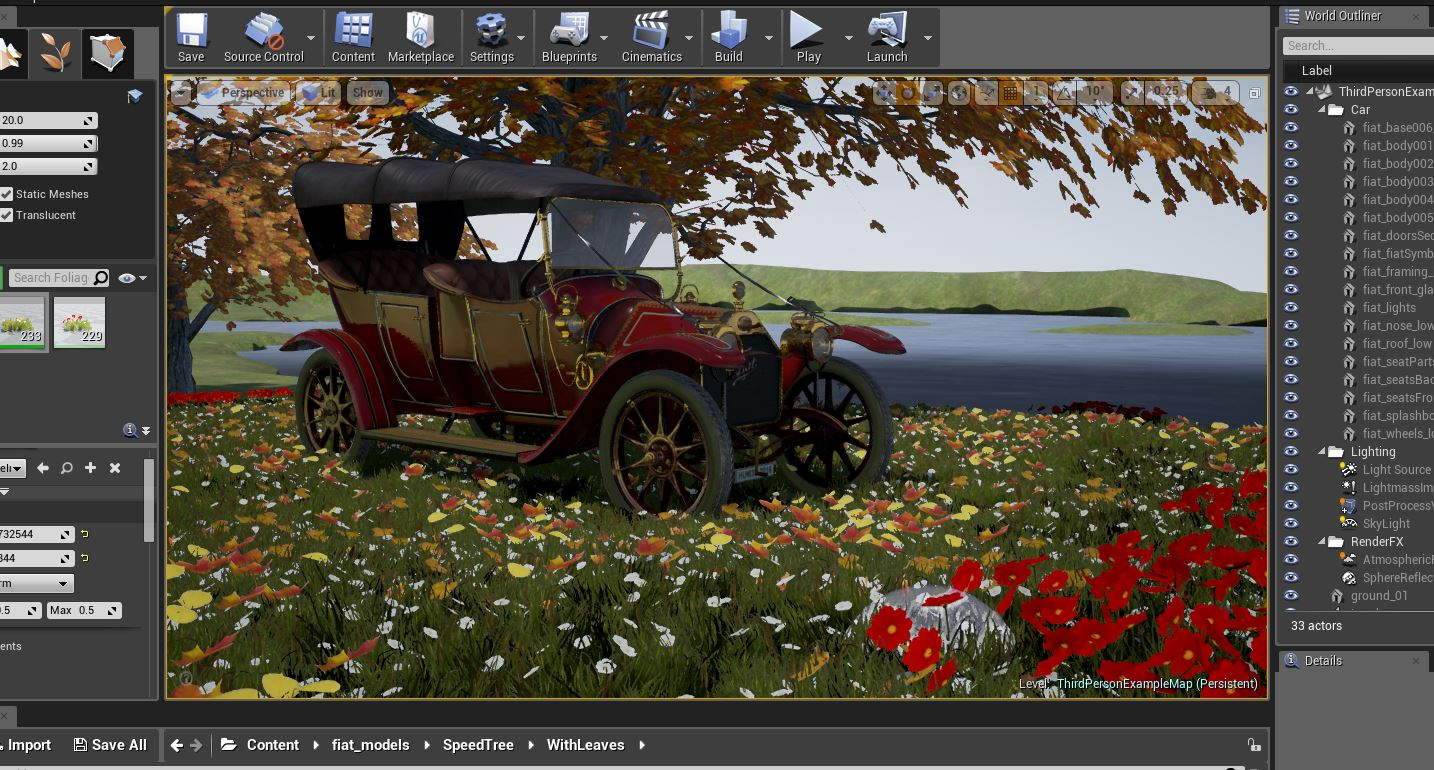 1912 Fiat – WIP and 3D Art Showcase – Forum Hum3D