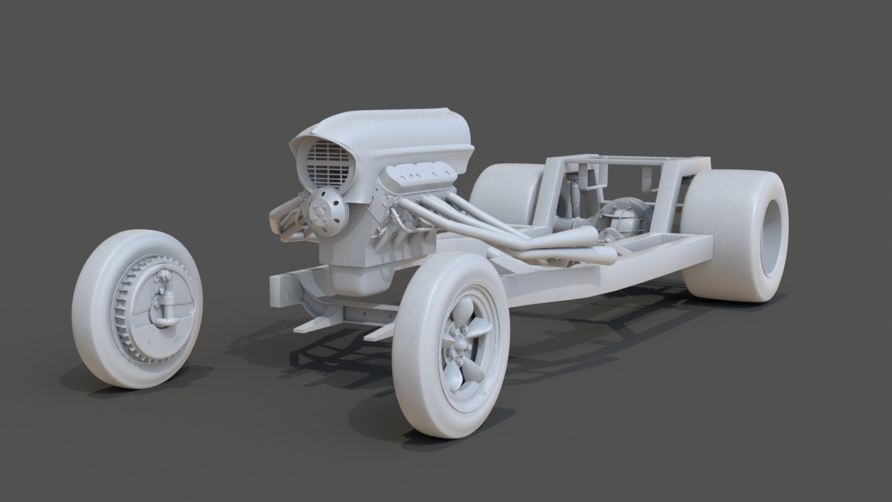 2016 Car Render Challenge - Pixelgorilla