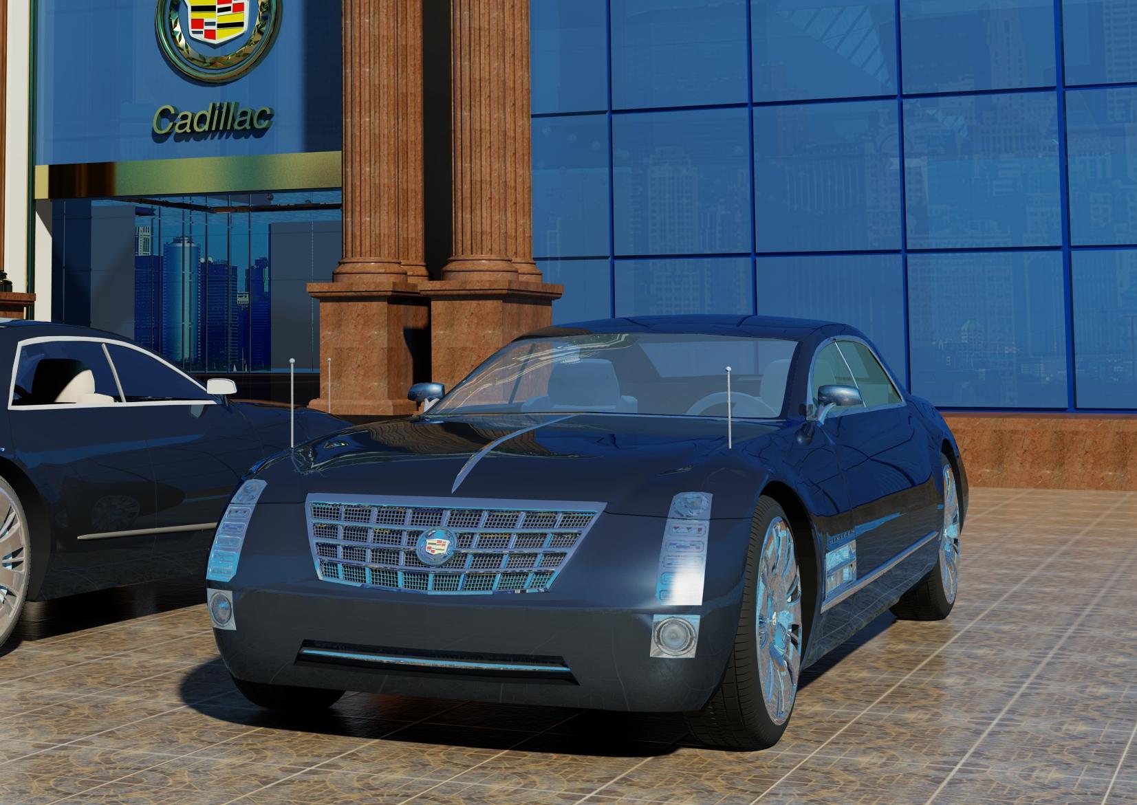 Cadillac sixteen concept 2003