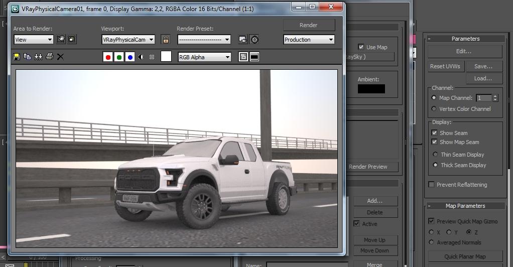 Ford Raptor 2016 W.I.P