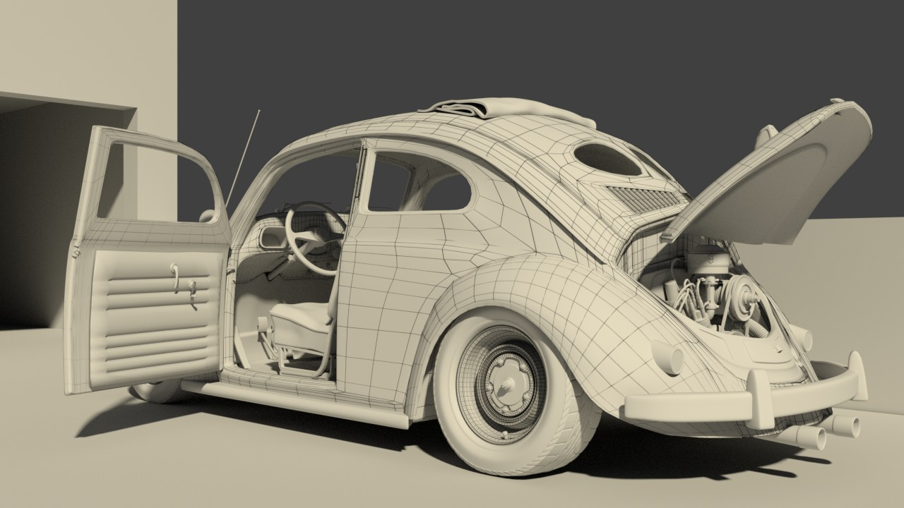 Car Render Challenge 2016 - VW 52 Custom