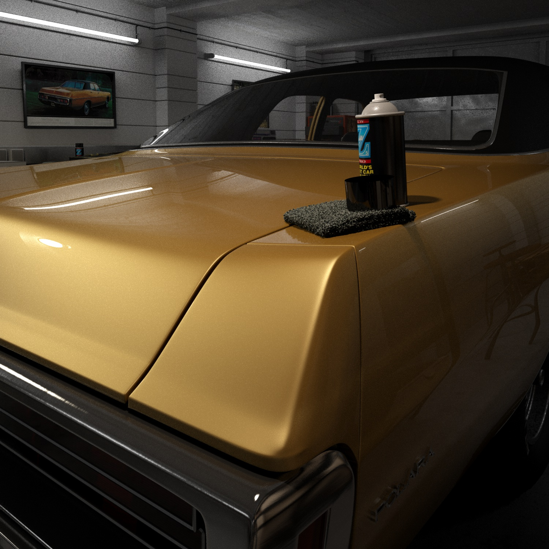 CAR RENDER CHALLENGE - DODGE GARAGE