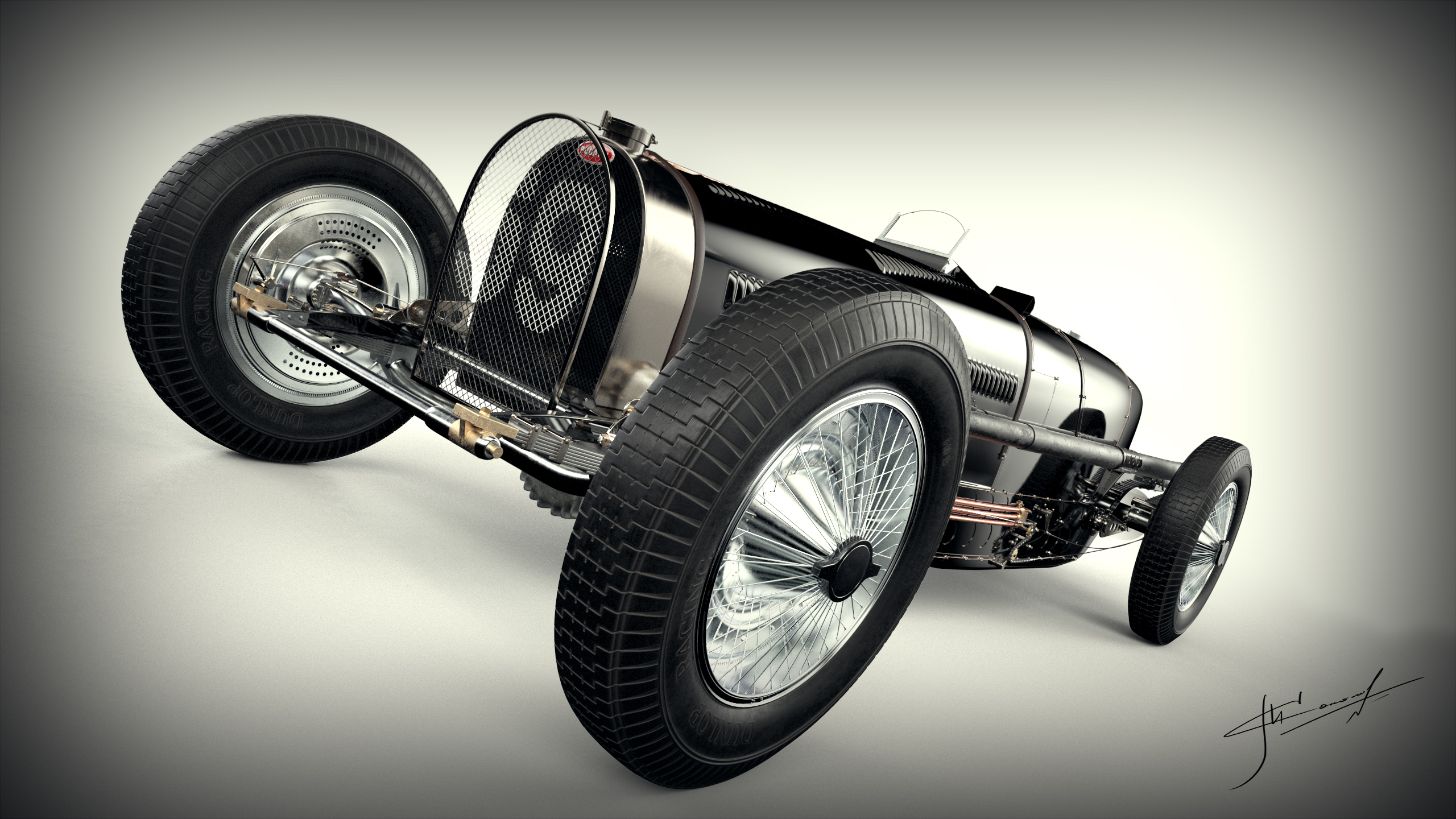Car Render Challenge 2016 -Bugatti Type 59