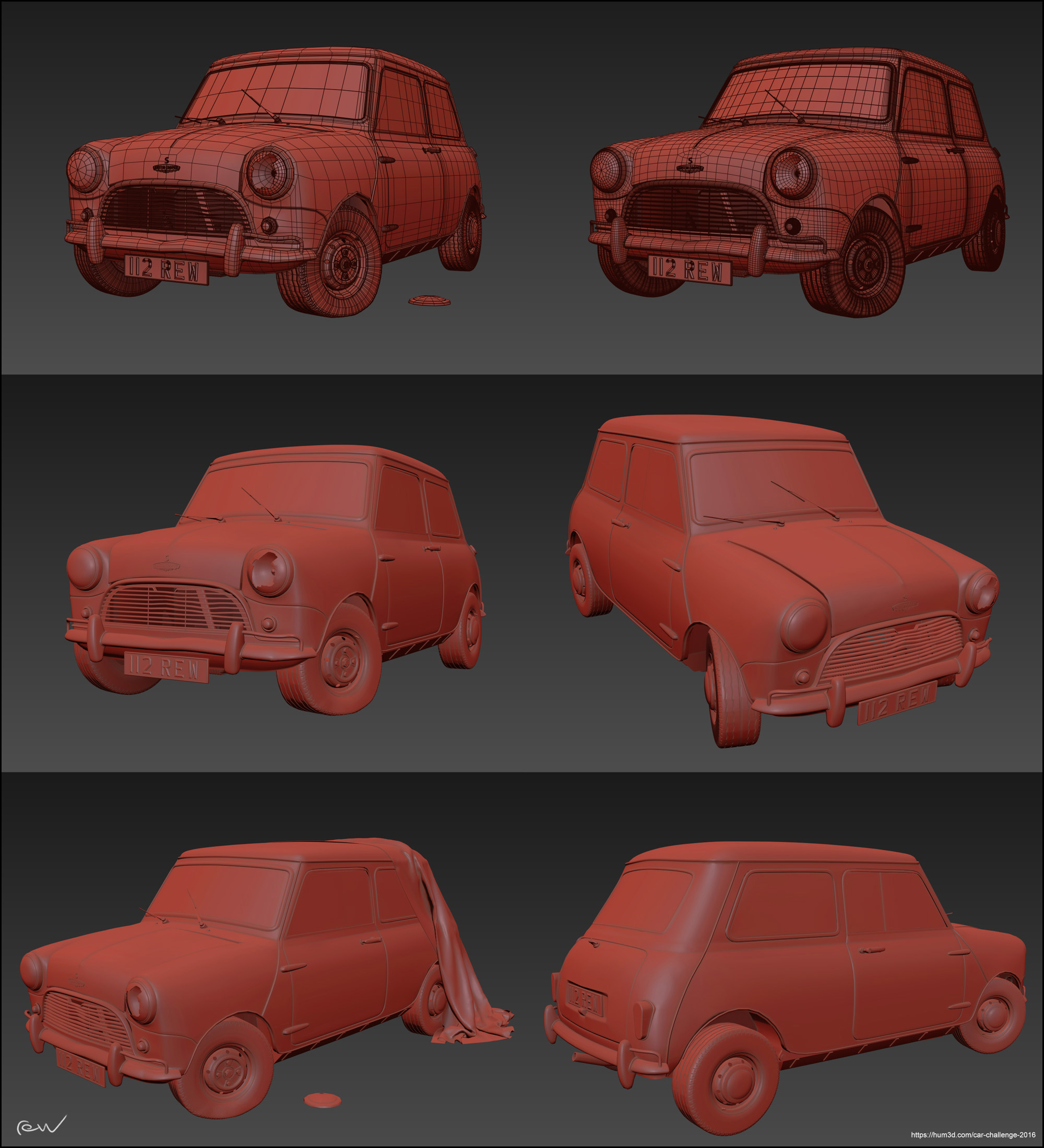 Car Render Challenge 2016 - Classic Barn Find