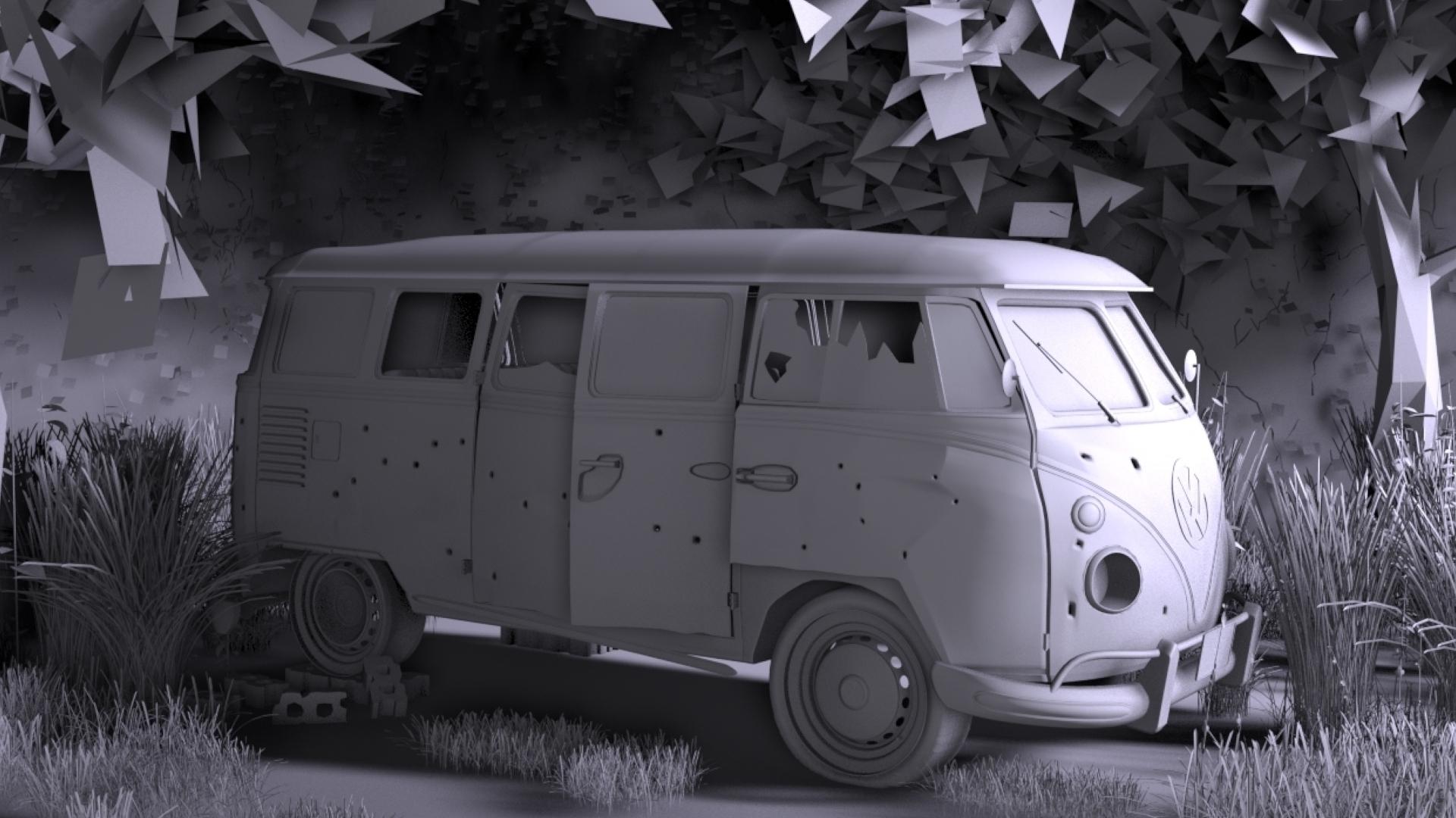Volkswagen Type 2 Campervan