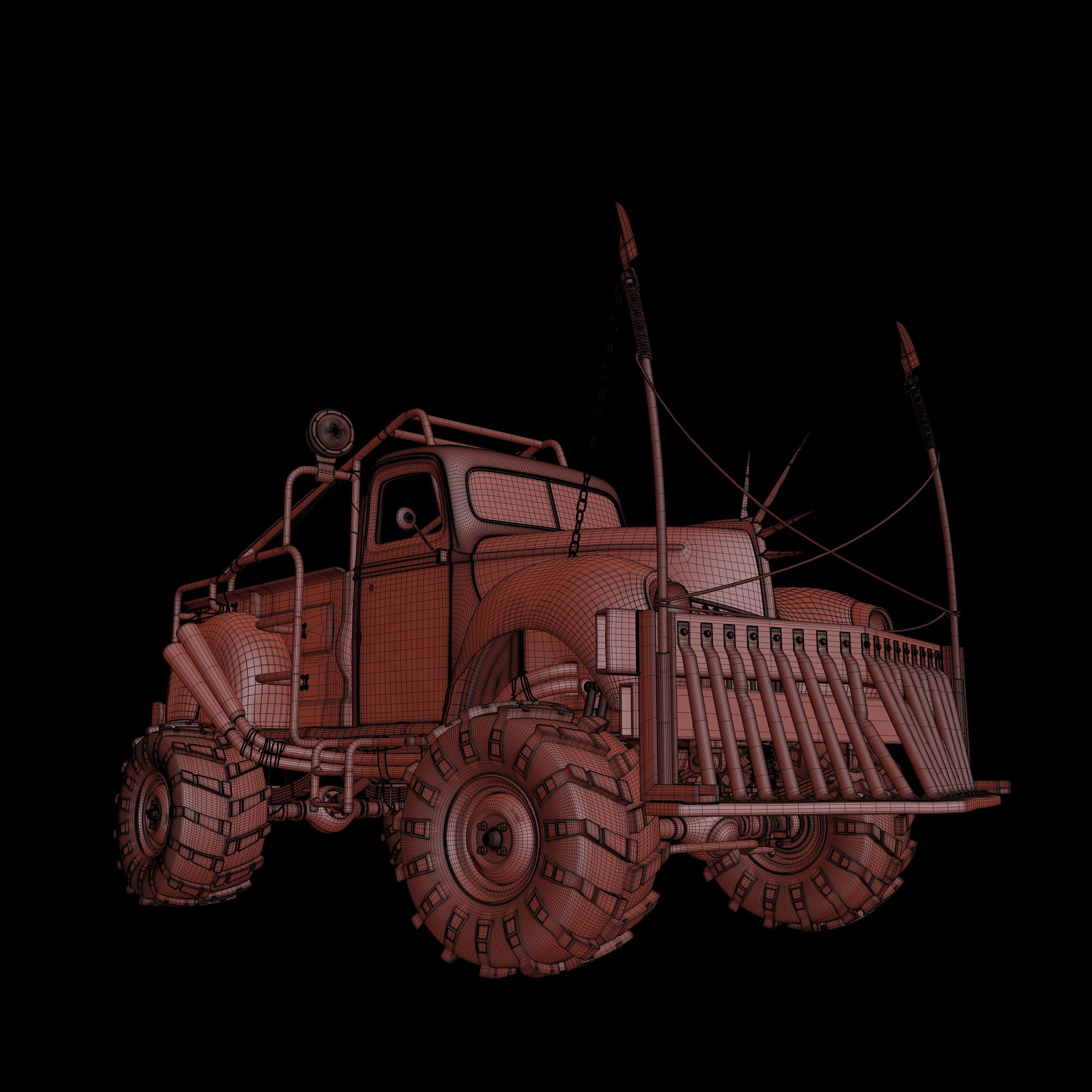 WIP - Car Render Challenge 2016 - Terminator