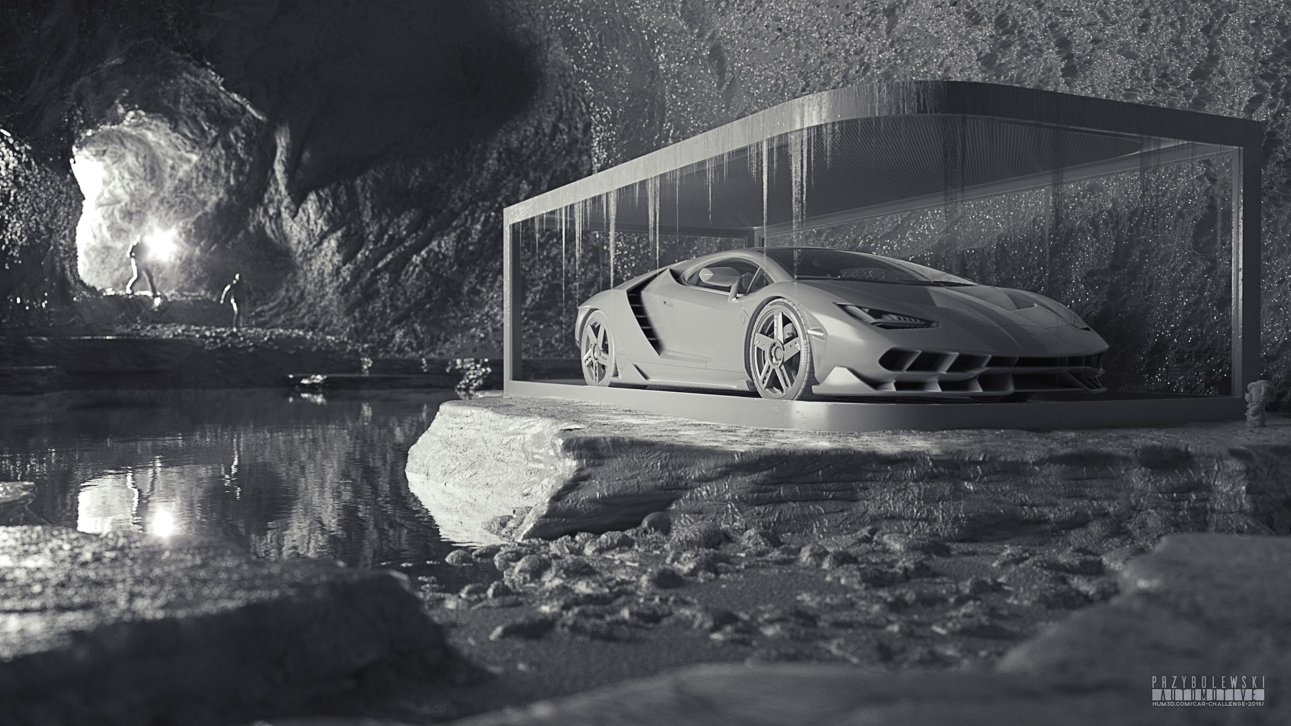 Lamborghini Centenario LP 770-4 - Car Render Challenge 2016