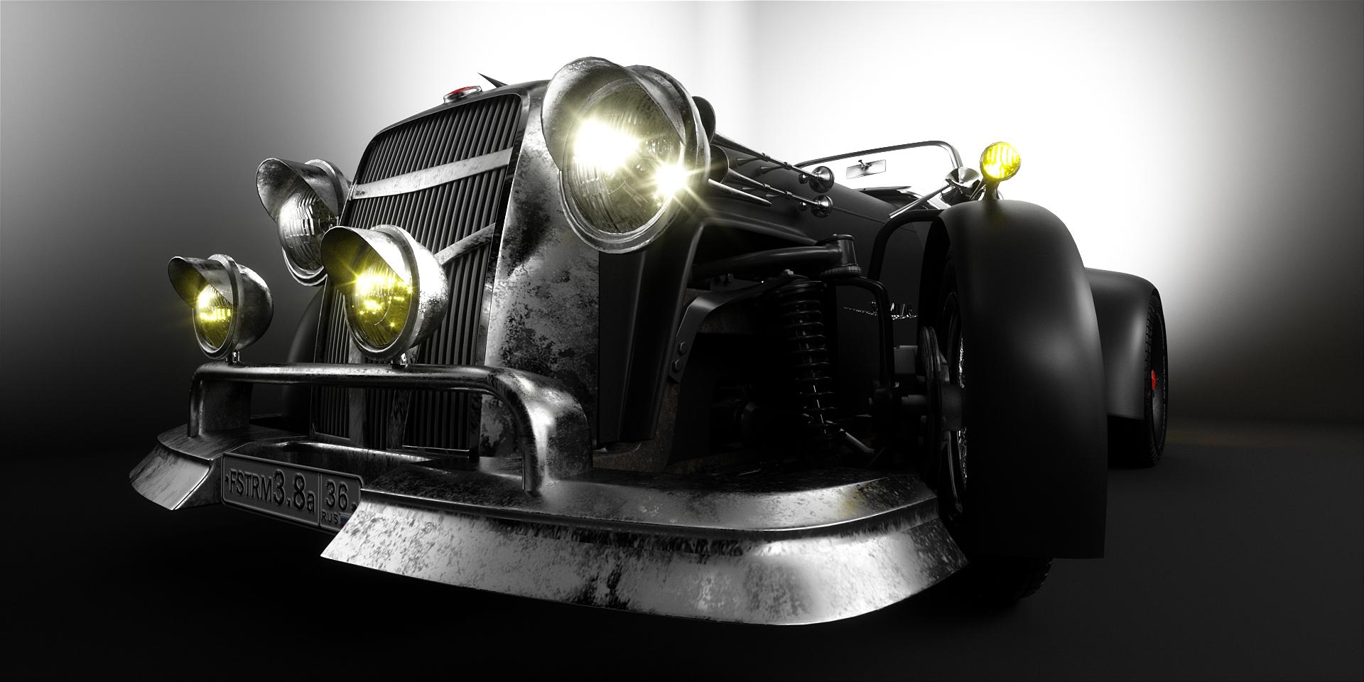 Cygnus Scimitar 1950 Roadster