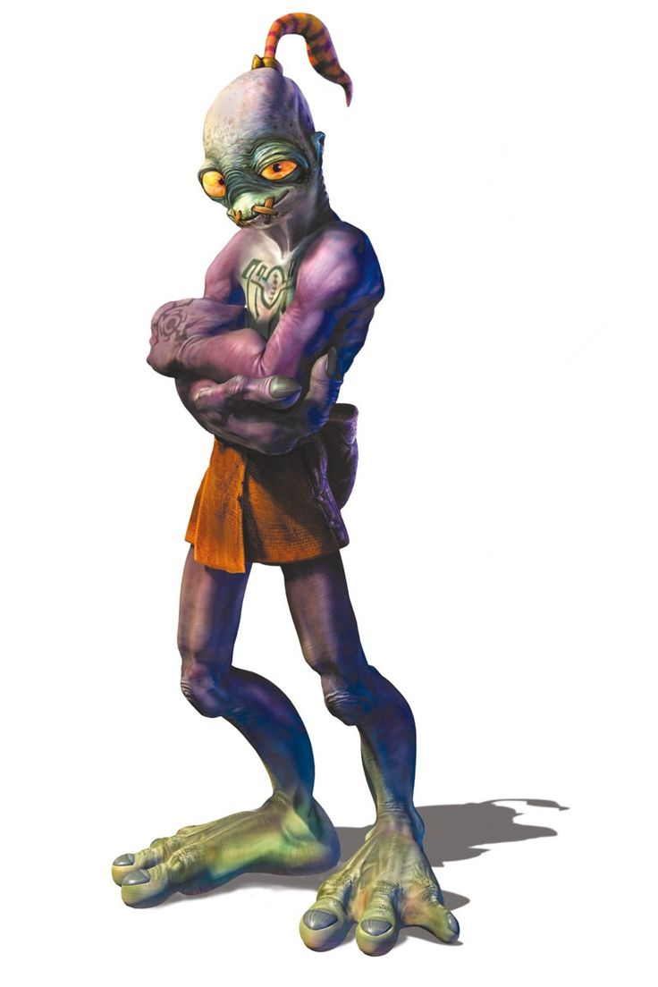 Video Game Superstar Challenge - Abe Oddworld