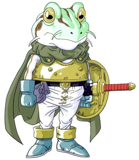 Video Game Superstar - Chrono Trigger FROG