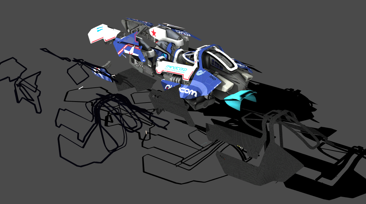 Ariel Tetsuo - Wipeout WIP