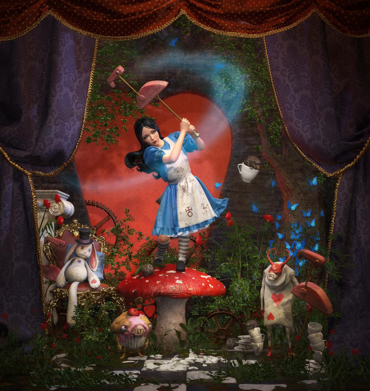 Video Game Superstar Challenge - Alice: Madness Returns