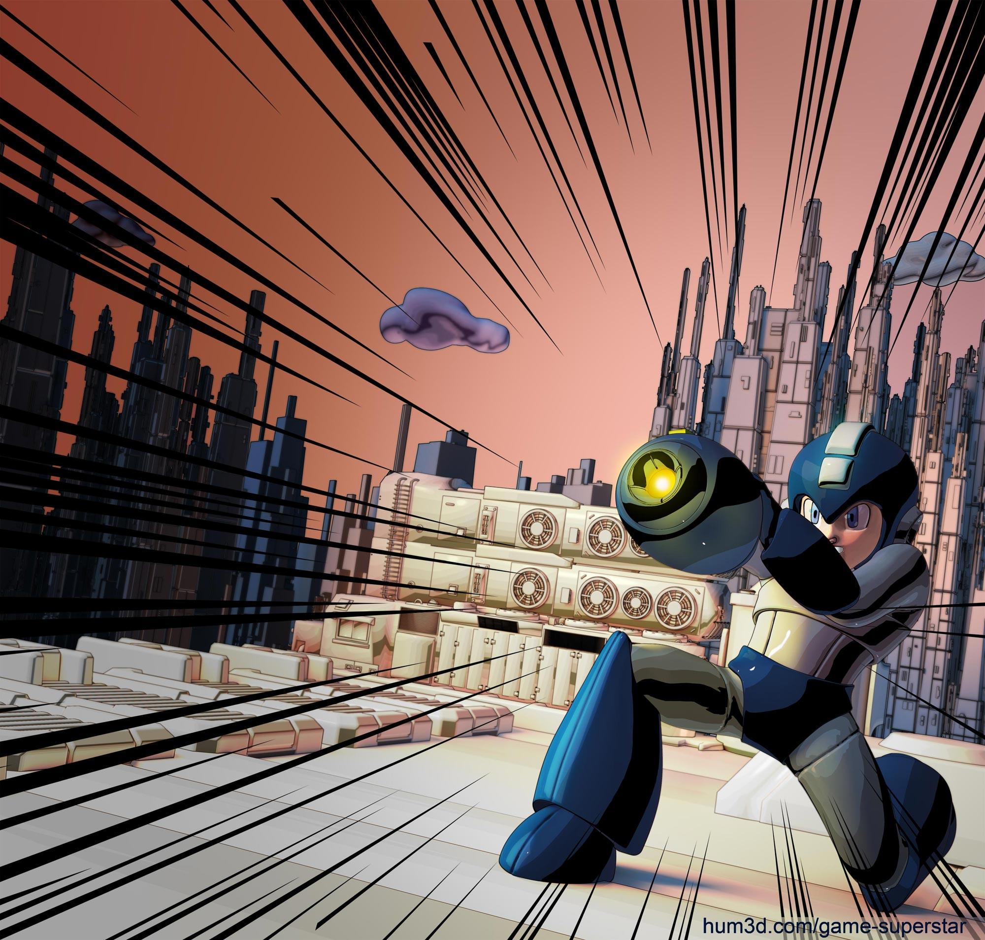 Videogame Superstar Challenge - Megaman
