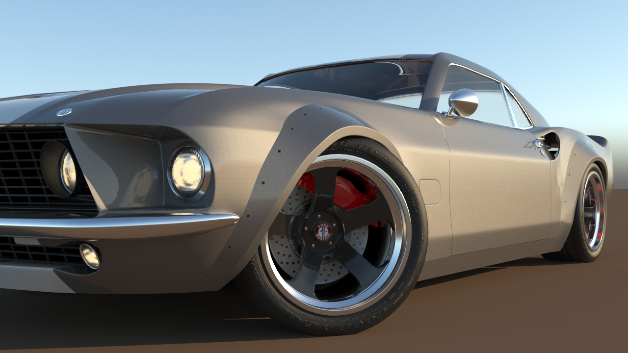 Car Render Challenge 2017 - ELEANOR v2.0 (wips)