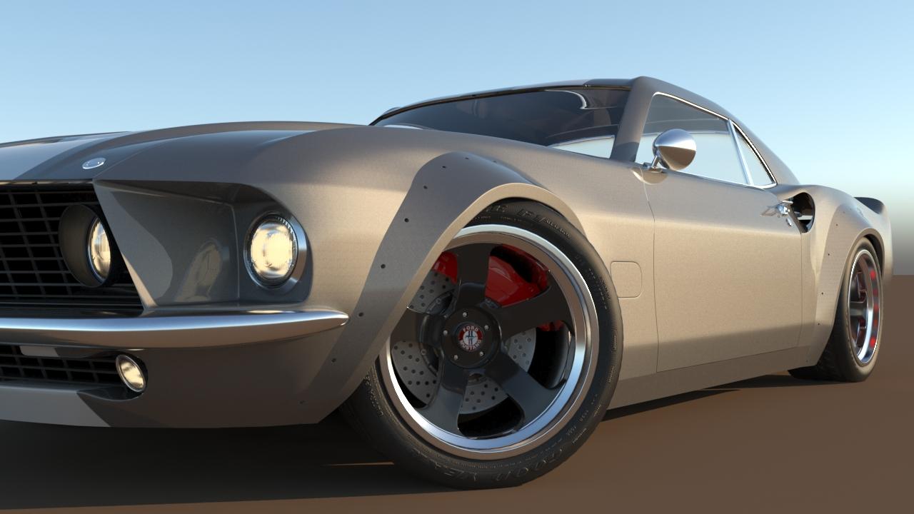 Car Render Challenge 2017 - ELEANOR v2.0 (wips)