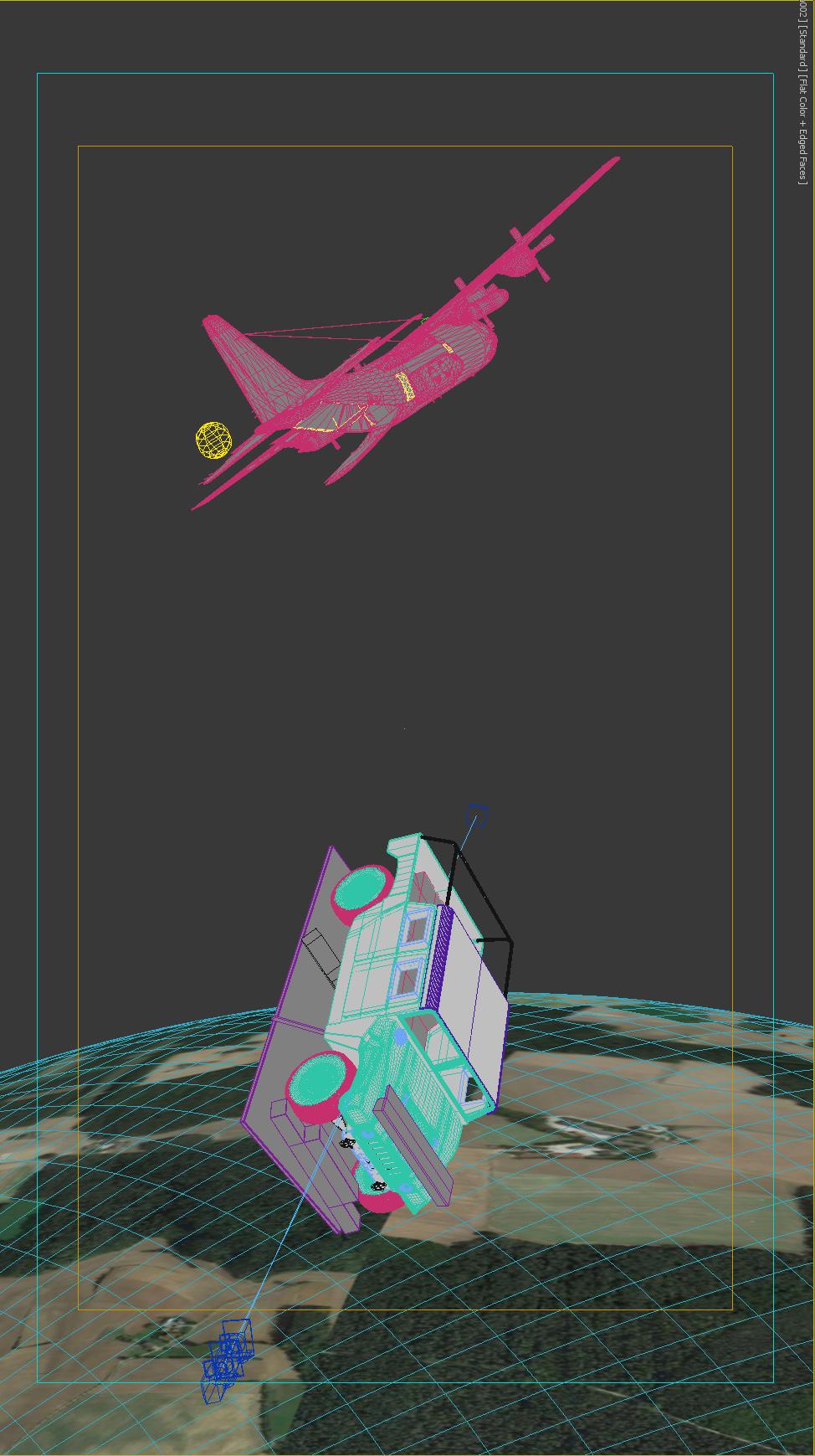 landing HMMWV