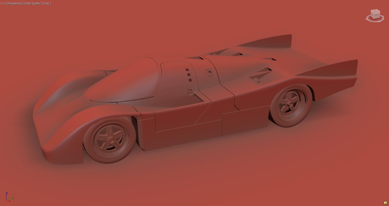 Car Render Challenge 2017 - Porsche_962