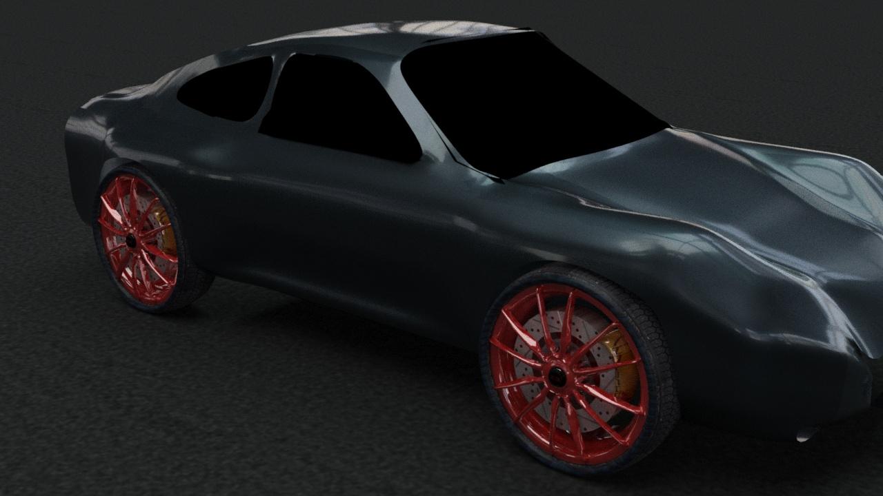 Car Render Challenge-2017 - porsche