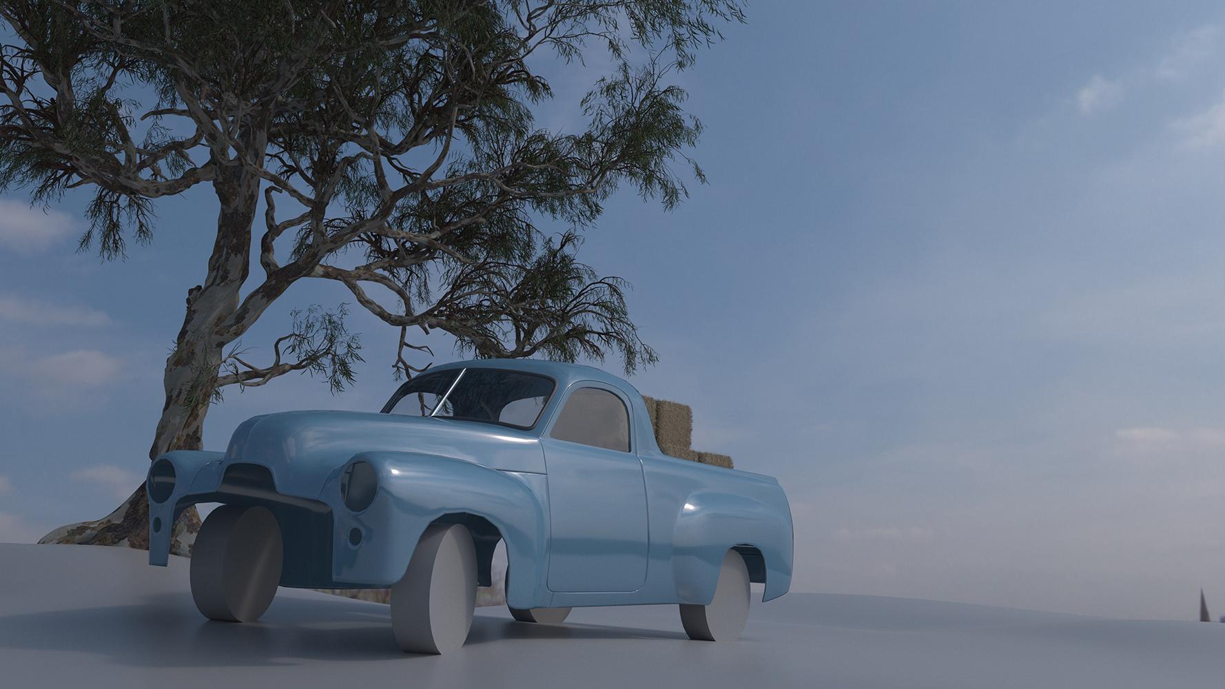 Car Render Challenge 2017 - Holden 50 2106