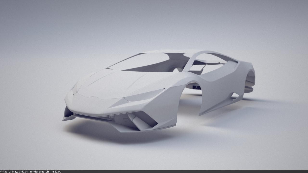 Car Render Challenge 2017 - Lamborghini Huracán Performante