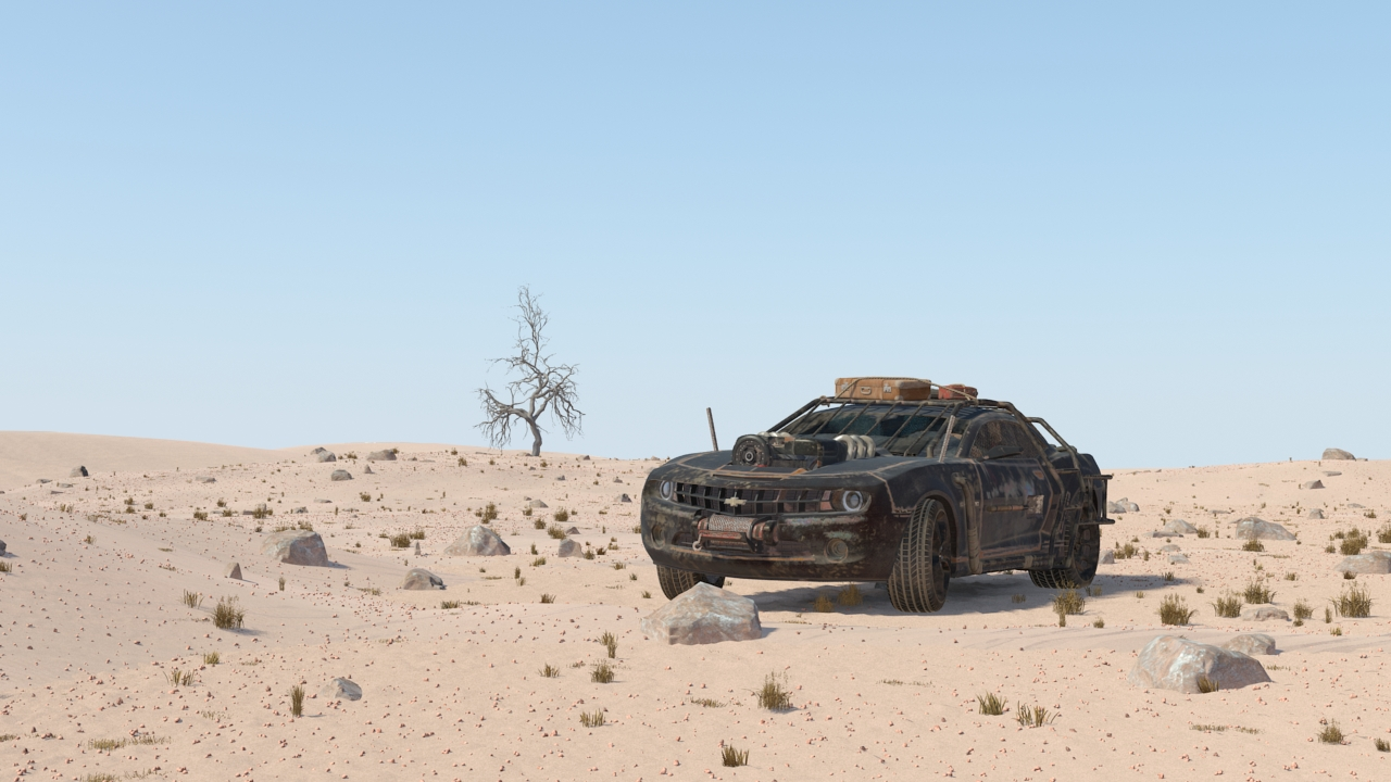Car Render Challenge-2017 - Mad Max theme
