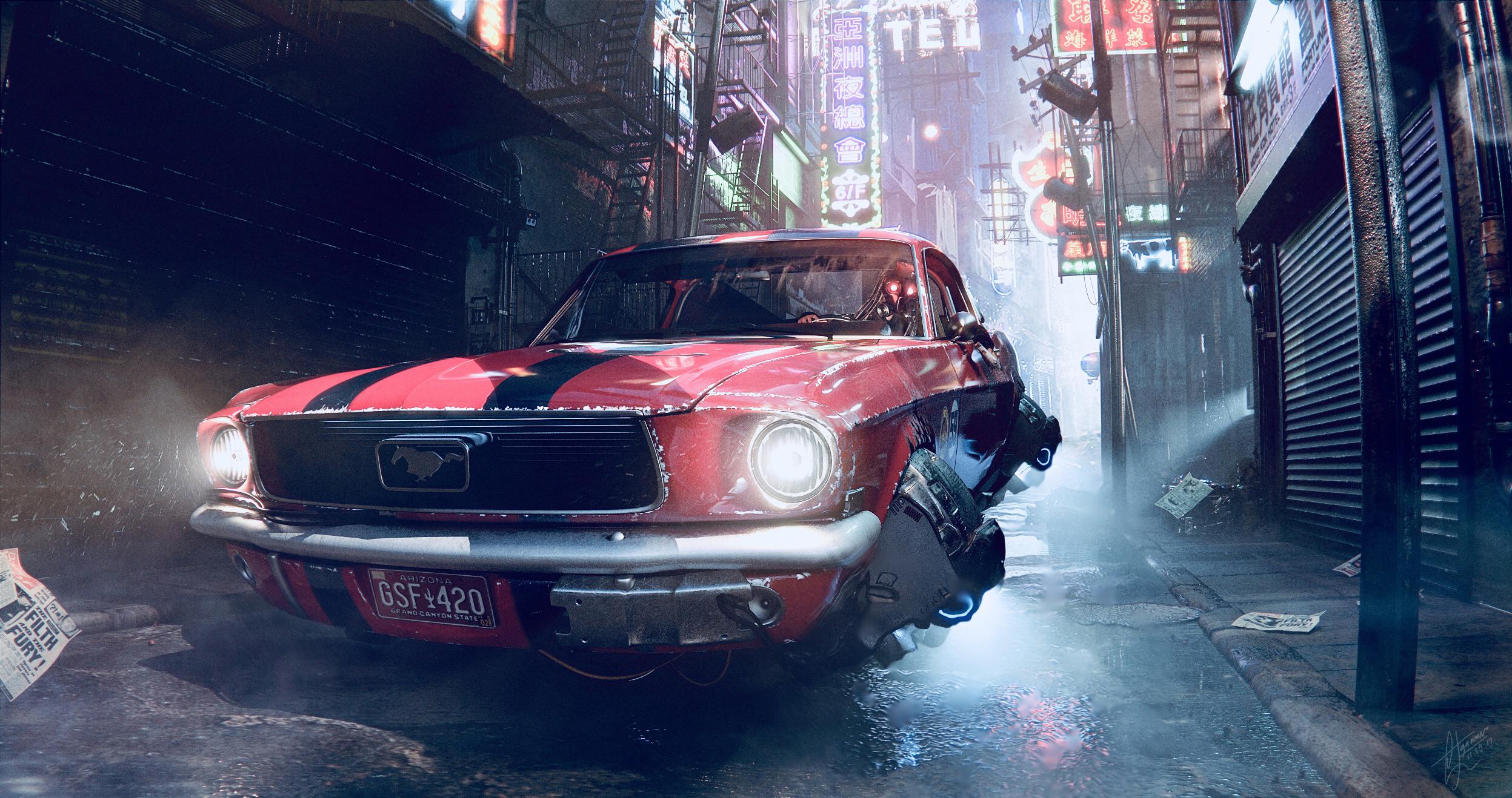 Car Render Challenge - Escape