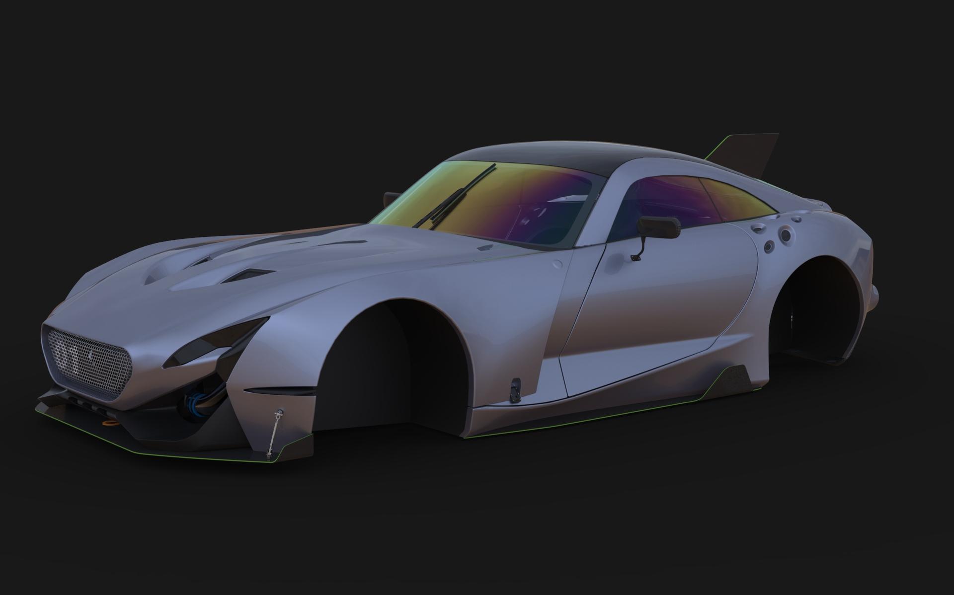 Car Render Challenge 2017 - TVR Spitfire