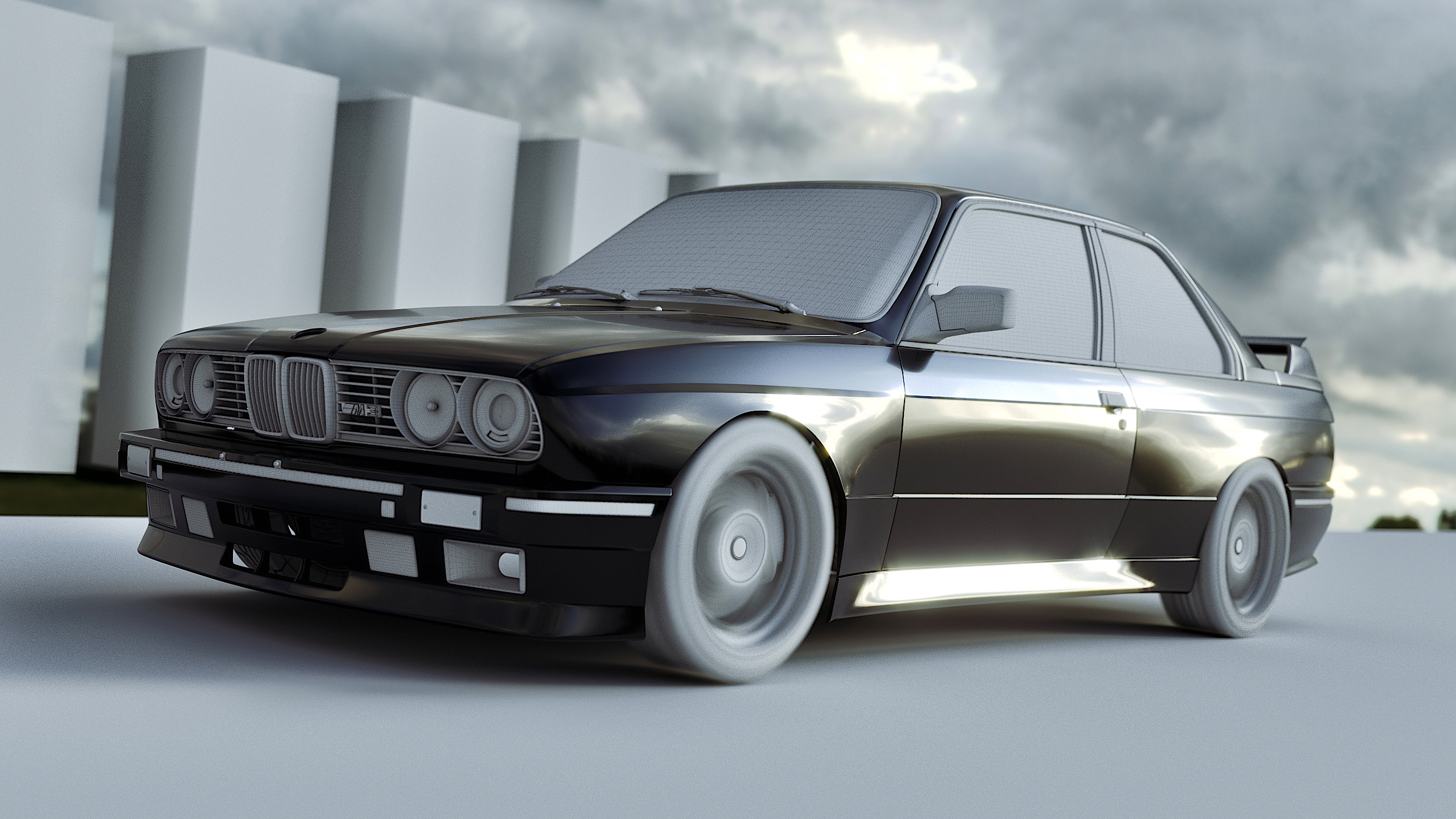 Car Render Challenge 2017_BMW_E30_M3_Sport_Evolution
