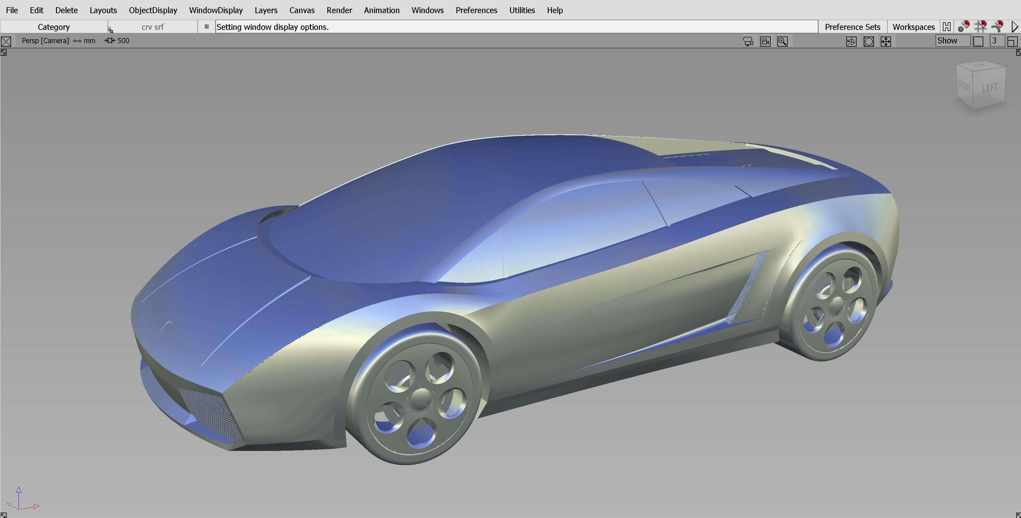 Car Render Challenge - Museo Lamborghini