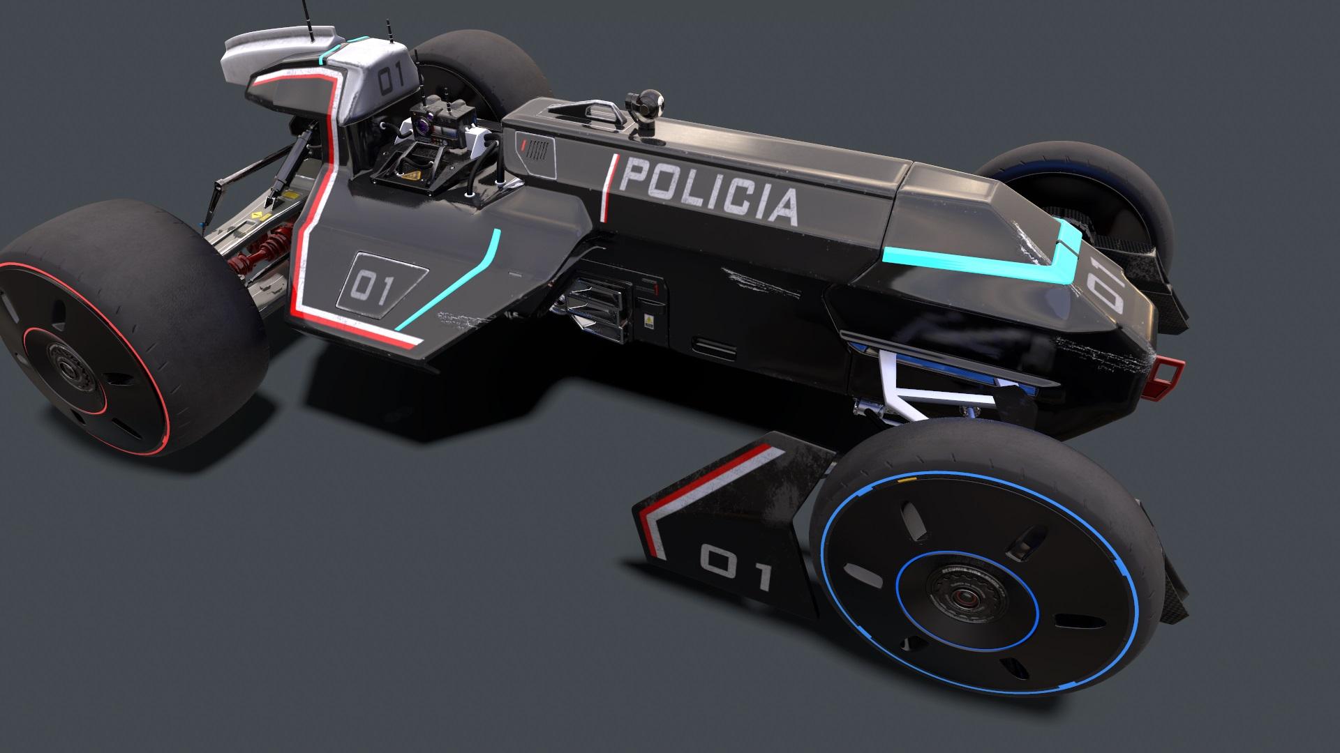 Car-Drone 3D