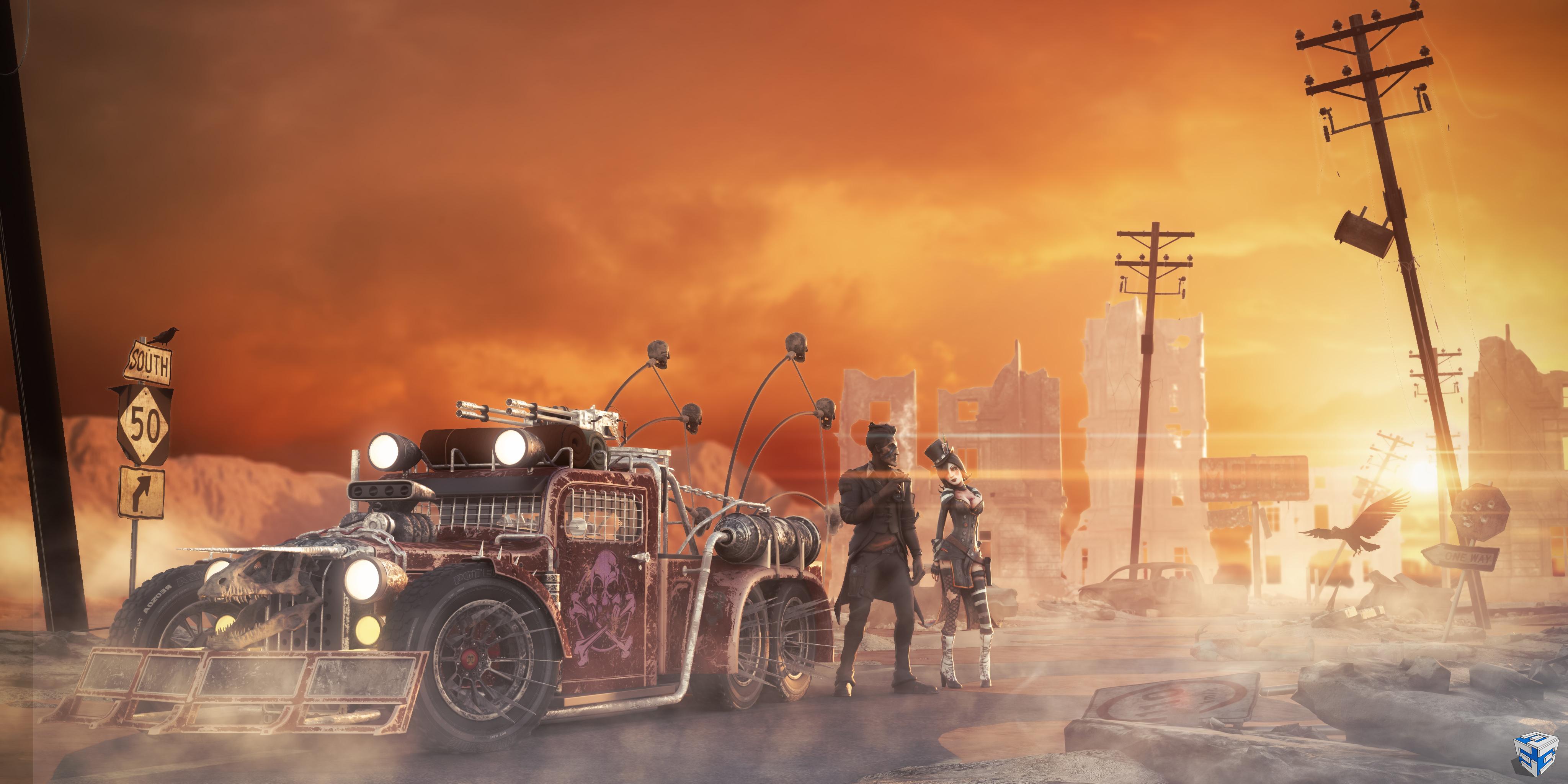 Apocalyptic Hot Rod (Survival Challenge 2018) - Hector Suriel