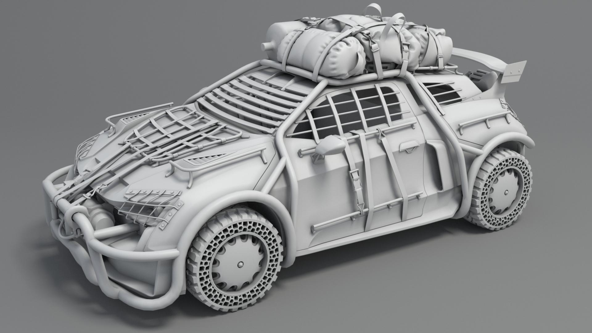 Survival Car 2018 - Stanislav Teslenko