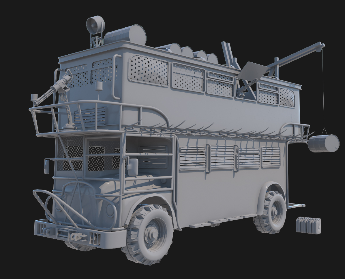 Survival Car 2018 -Double-decker