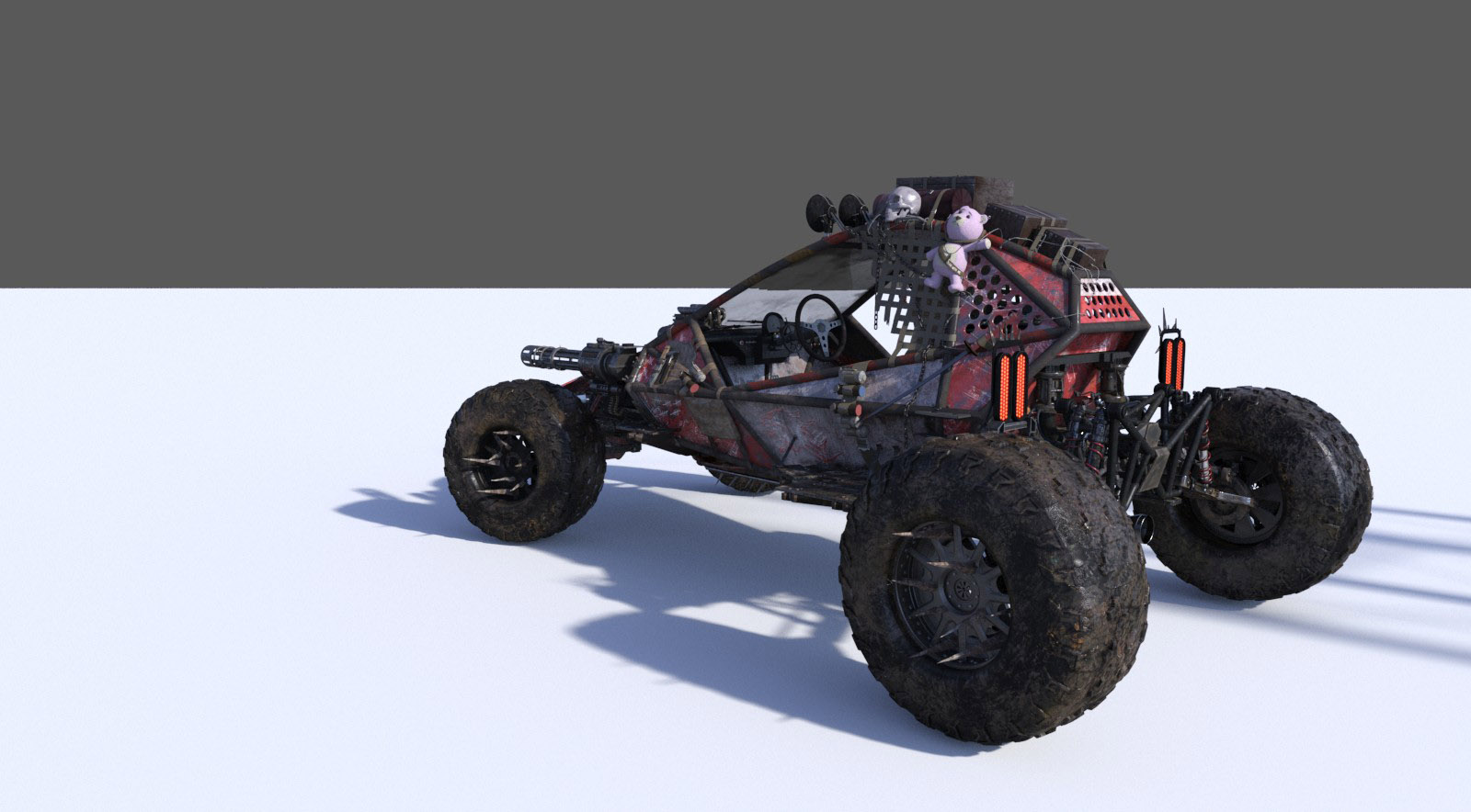 Survival Car - The Hell Machine