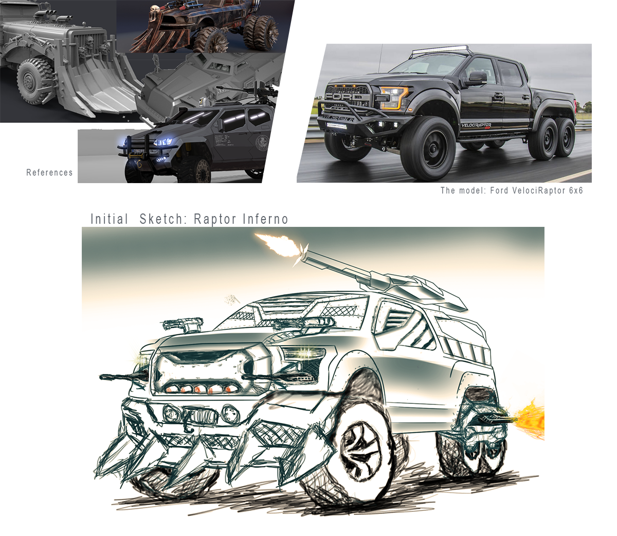 Survival Car Challengue 2018: Raptor Inferno