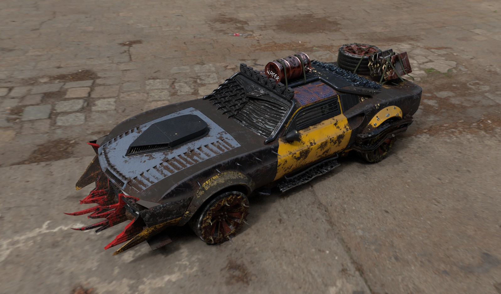 Post-Apo Car challenge 2018 - based on Mustang RTR-X