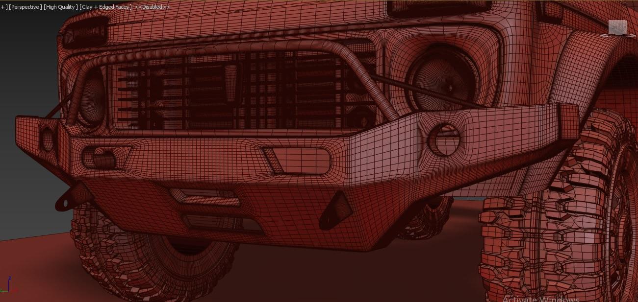 Car Render Challenge 2018-lada niva